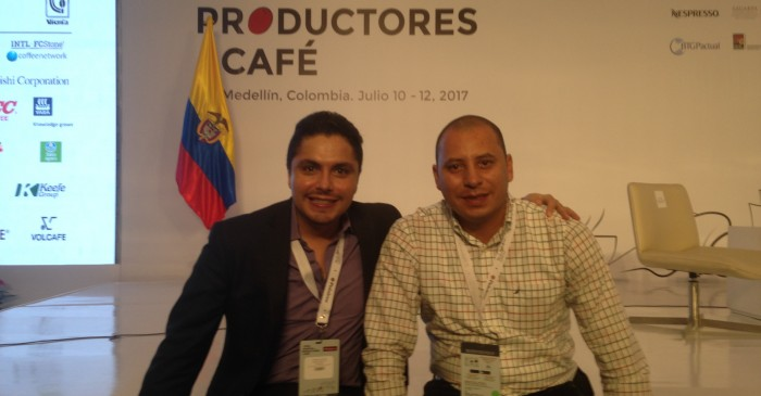 Cafe Trading Advisors team at the First World Coffee Producers Forum